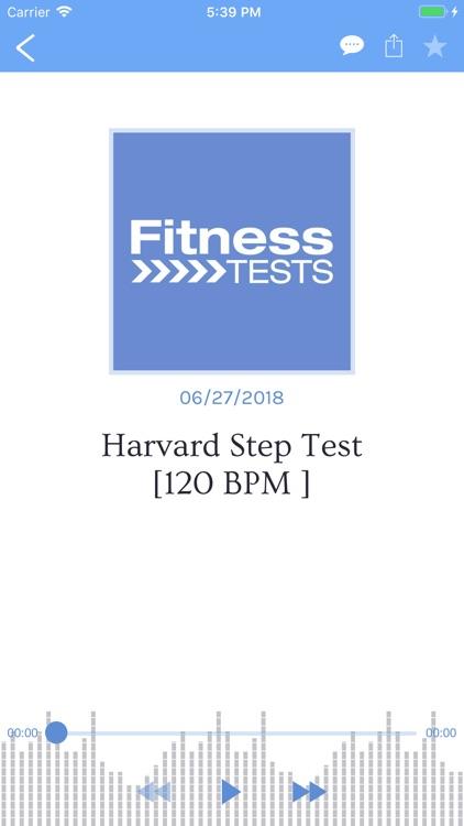 Fitness Tests screenshot-4