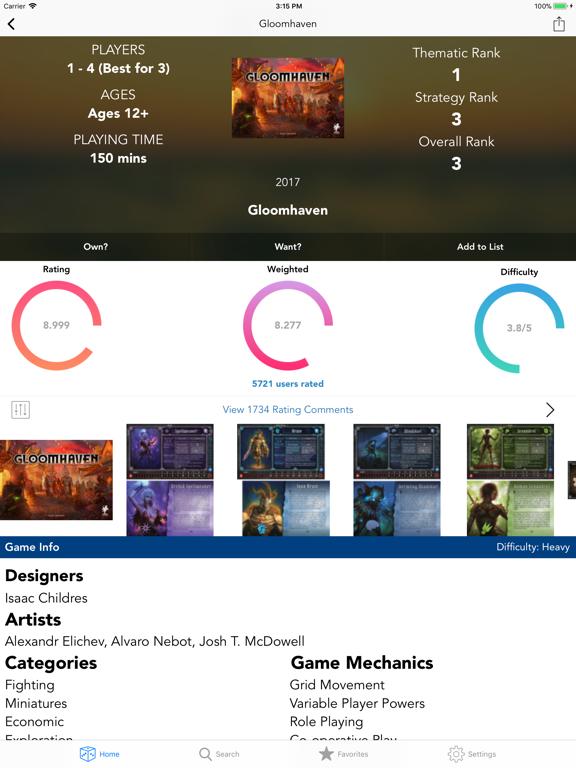 Board Game Bible screenshot