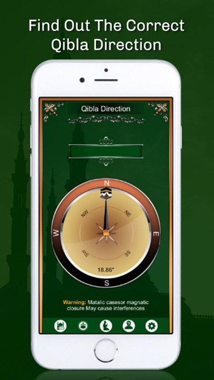 Prayer Times - Qibla Compass