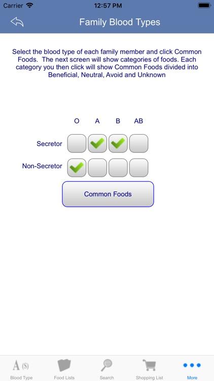Blood Type Diet® screenshot-6