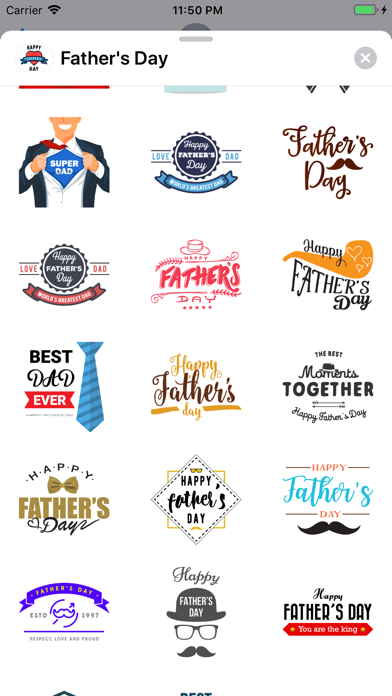 Fathers Day Greetings for Dad - 窓用