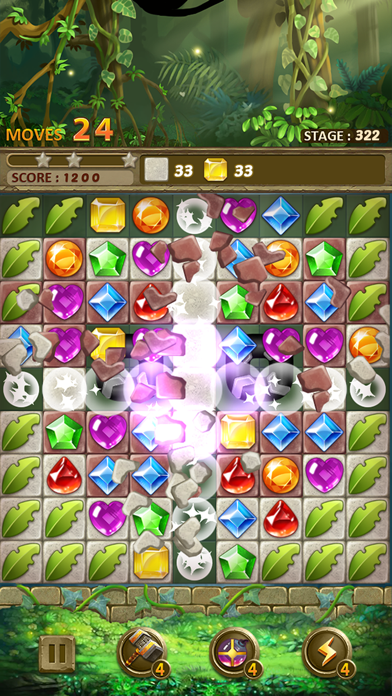 Jewels Jungle : Match 3 Puzzle screenshot 6