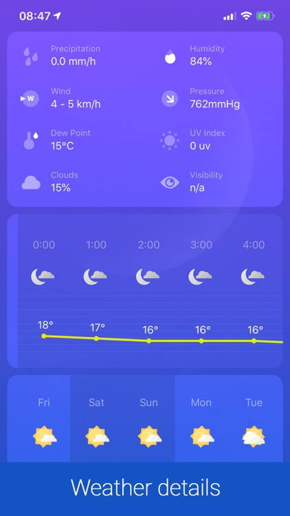 Weather ℉ screenshot-5