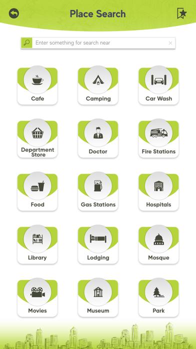 Screenshot of Fredrikstad Tourism App