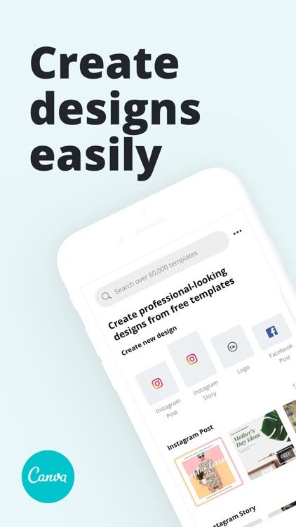 Canva - Graphic Design Creator screenshot-0
