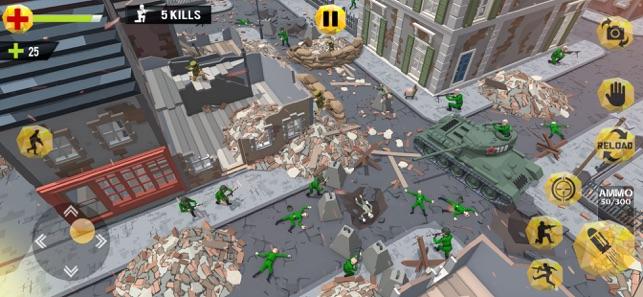 Blocky Boss hero Shooting 2021, game for IOS