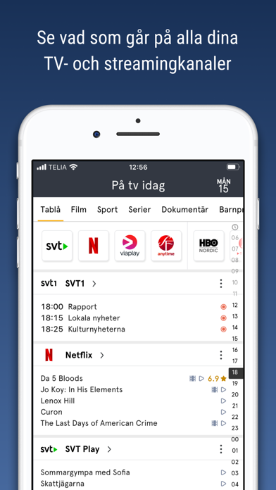 tv.nu - Guide till TV & Play screenshot one