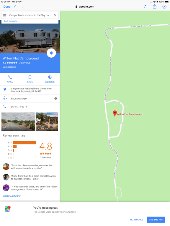 The Ultimate US Public Campground Project screenshot