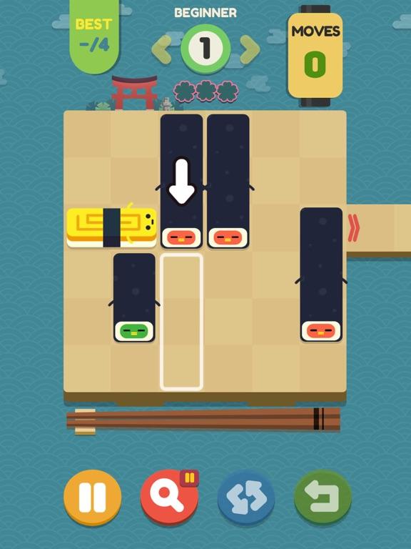 Push Sushi - slide puzzle screenshot 9