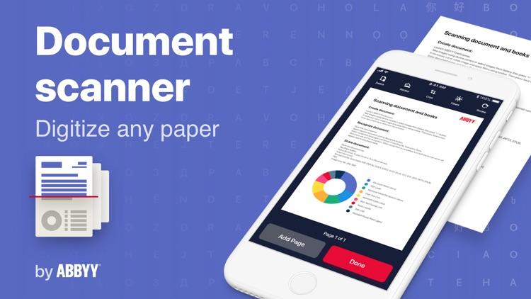 FineScanner PRO-PDF Scanner screenshot-0
