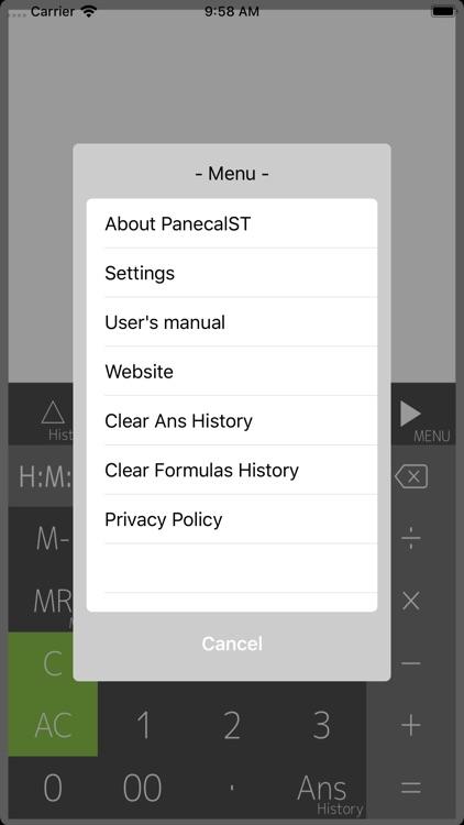 Calculator PanecalST Plus screenshot-3