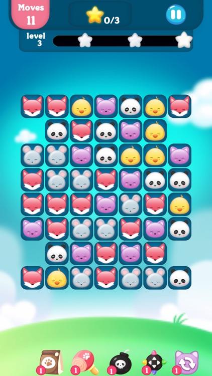 动物消消乐园 - 萌宠快乐消消消 screenshot-5