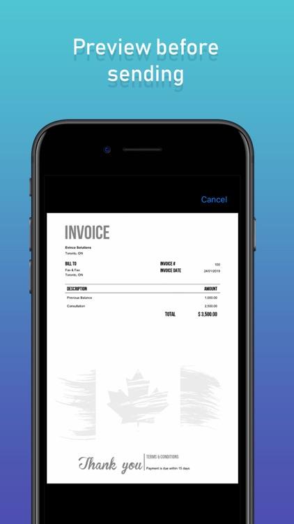 Fax & Fax Send Fax from iPhone screenshot-3