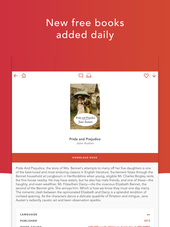 eBook Search - Free books for iBooks and other eBook readers screenshot
