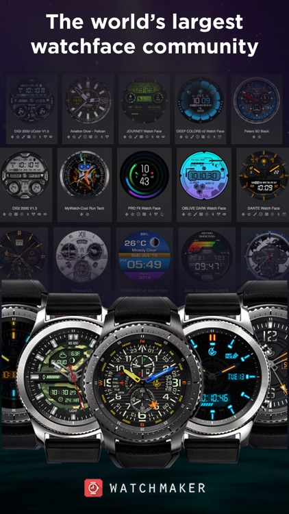 Watch Faces 100,000 WatchMaker screenshot-1