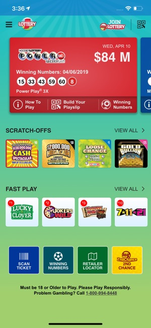 Hoosier Lottery on the App Store