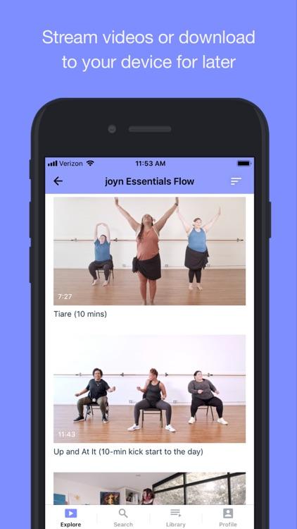joyn - joyful movement screenshot-3