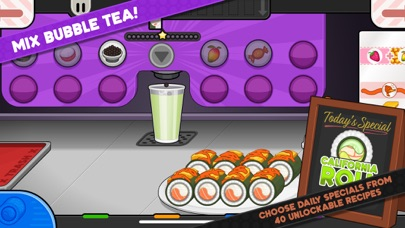 Papa's Sushiria To Go! screenshot 5