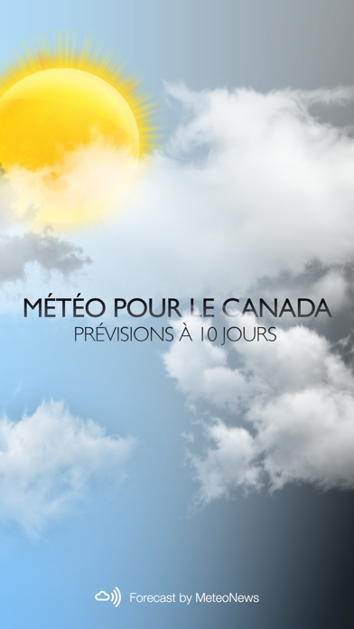 messages.download Weather for Canada software
