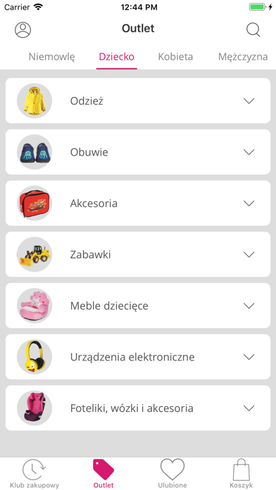 Screenshot for limango in Poland App Store