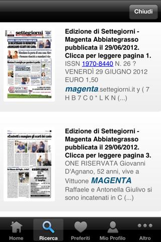 Settegiorni - Magenta Digitale - náhled