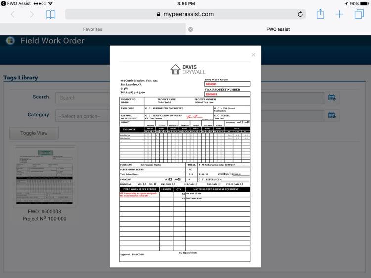 Field Work Order screenshot-3