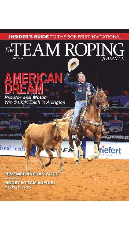 The Team Roping Journal screenshot-0