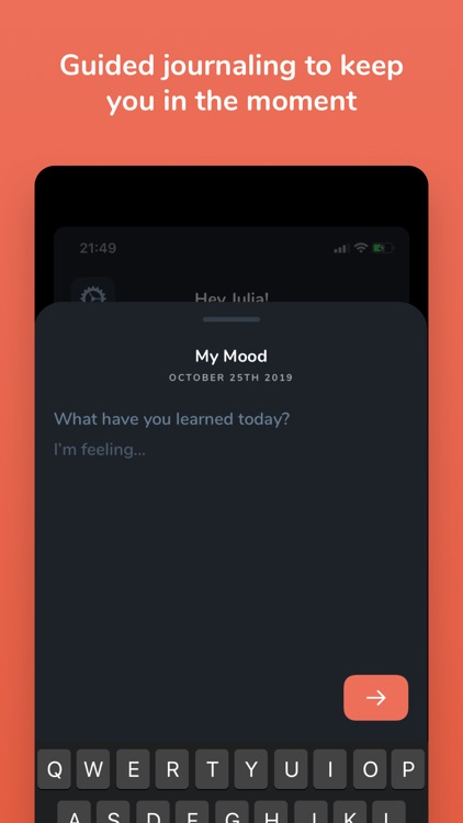 Mood - Guided Journaling