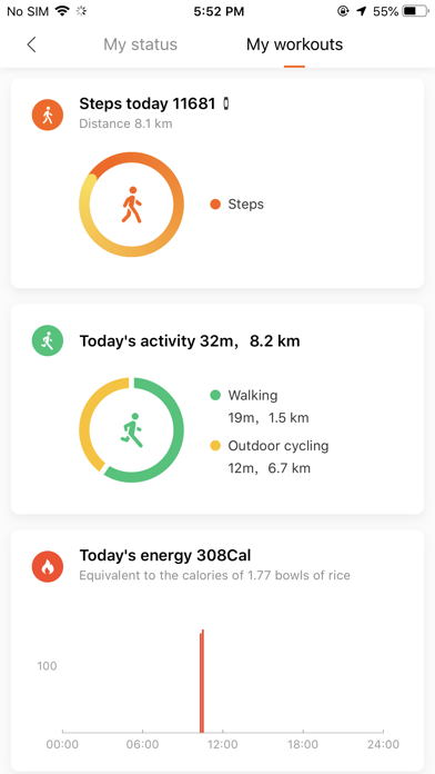 messages.download Mi Fit software