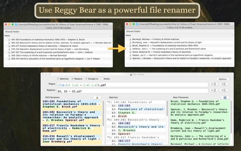 Reggy Bear for Mac