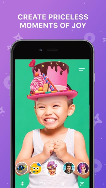 FunCam Kids: AR Selfie Filters screenshot-4