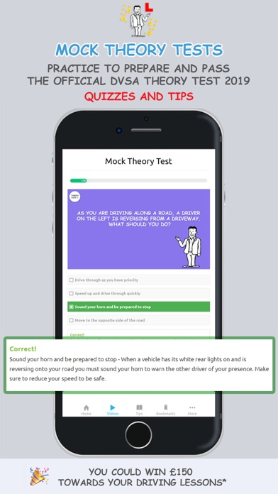 Theory Test UK 2019 Vroome