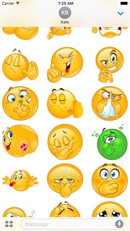 Rude Emoji Stickers