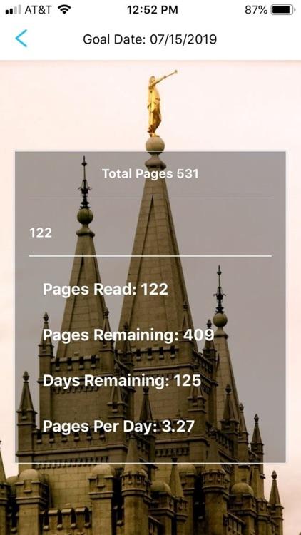 Book of Mormon Pace Tracker screenshot-3