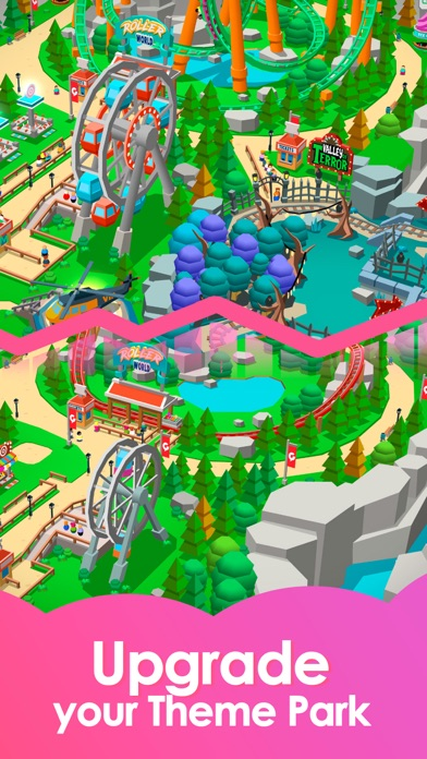 Idle Theme Park - Tycoon Game Screenshot 4