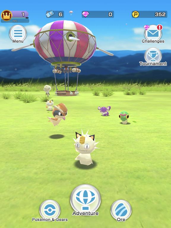 Pokémon Rumble Rush screenshot 1