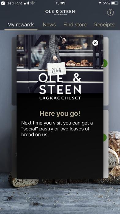 Ole & Steen screenshot two