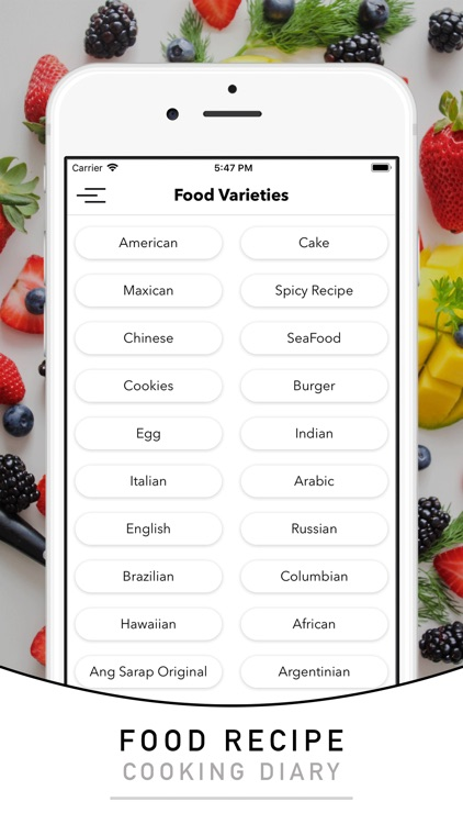 Filipino recipes & foods screenshot-3