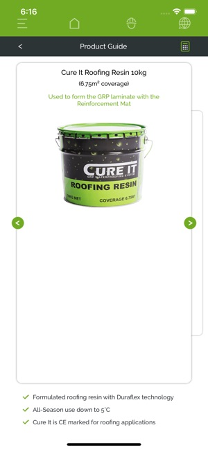 Cure It GRP Roofing System on the App Store