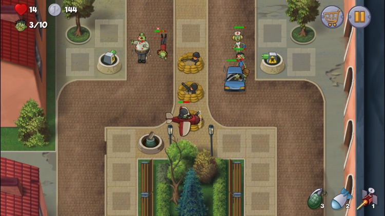 Zombie Town Defense screenshot-3