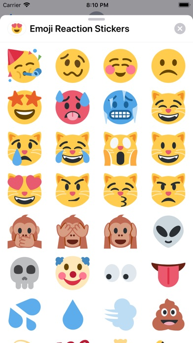Emoji Reaction Stickers app image