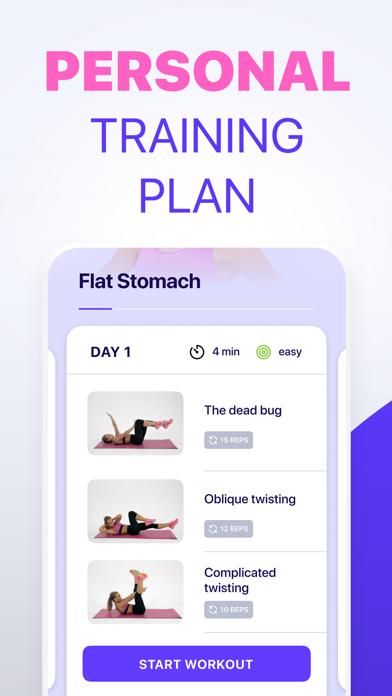 Workout 24 Weight loss fitness screenshot 3