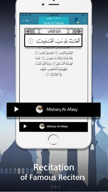 Al Quran Kareem - Quran Pro screenshot-3
