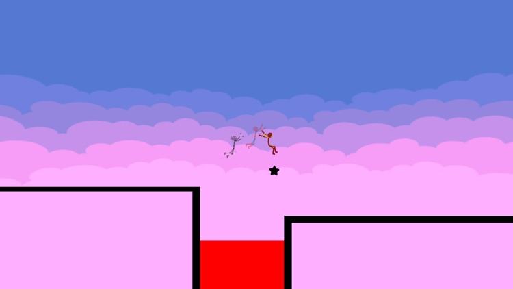 Stickman Parkour - Ninja Race screenshot-5