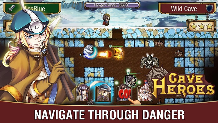 Cave Heroes - Idle RPG by yang hu