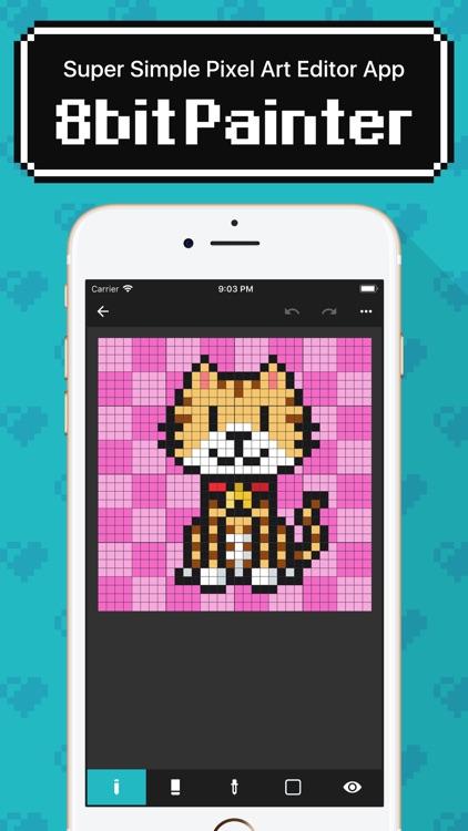 8bit Painter - Pixel Art App screenshot-0