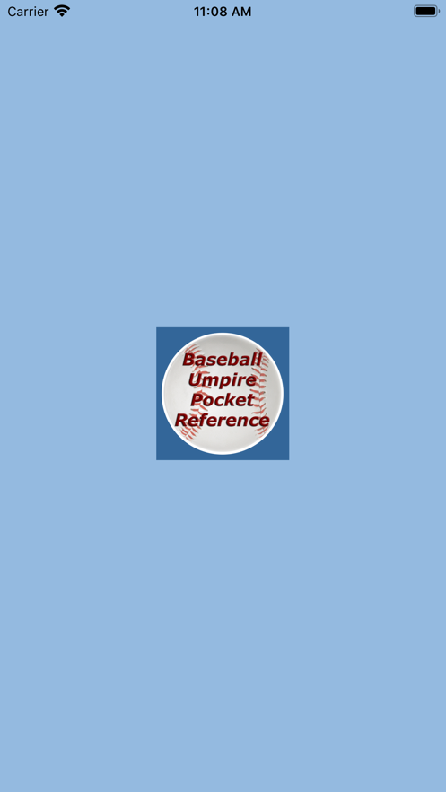 Baseball Umpire Pocket Ref App 截图