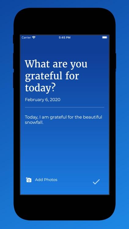 Grateful: Give Thanks Daily screenshot-3