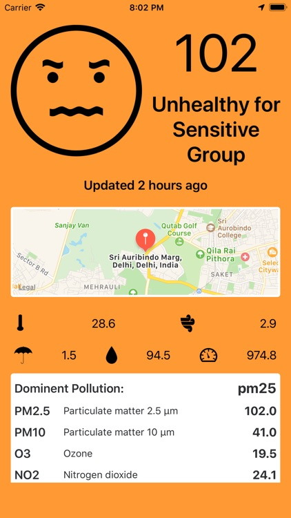 My AQI Air - PM2.5 / Pollution screenshot-2