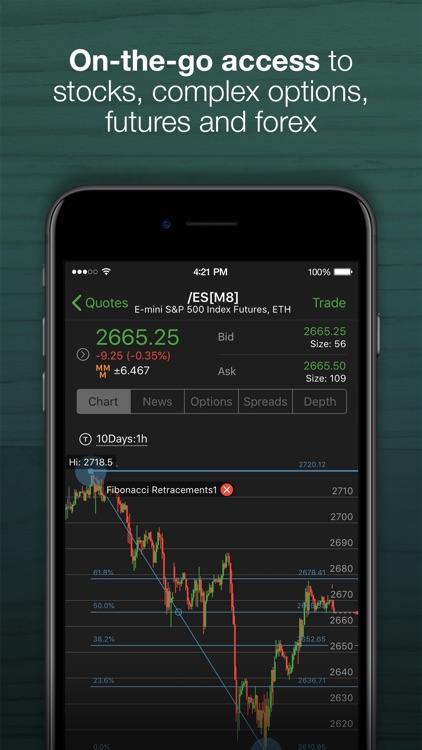 TD Ameritrade: Mobile Trader screenshot-0